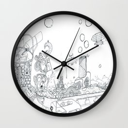 The Worm Wall Clock