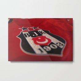 Football Team Beşiktaş Metal Print