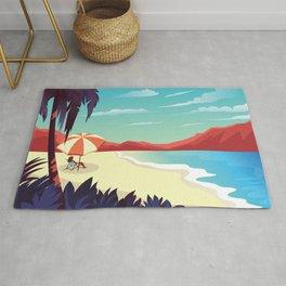 Canyon Beach Sunset Rug