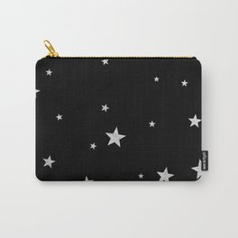 Silver Stars Carry-All Pouch