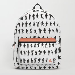 Character silhouettes Backpack