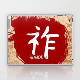 Japanese kanji - Honor Laptop & iPad Skin