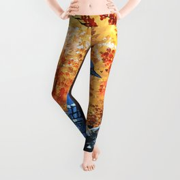 Blue Jay Life Leggings
