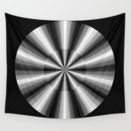 Ten Silver Pointers Wall Tapestry