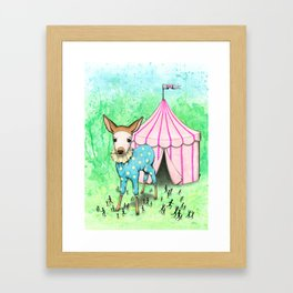 Escape the Big Top Framed Art Print