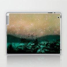 Night Sky Flowers Laptop & iPad Skin