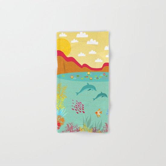 Sealife Hand & Bath Towel