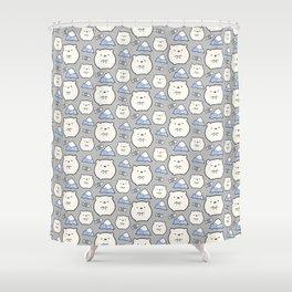 Little Polar Shower Curtain