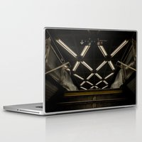 subway Laptop & iPad Skins featuring SUBWAY by paulmhoward