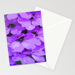 Lupins are lilac Stationery Cards