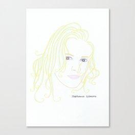 Stephanie Gilmore Canvas Print