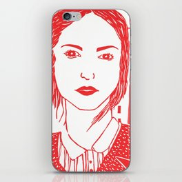 WUTHERING HEIGHTS - LINO (RED VERSION)  iPhone Skin
