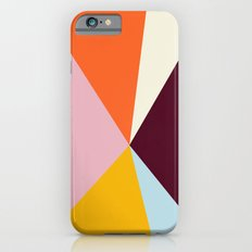 Multicolor Triangles Slim Case iPhone 6s