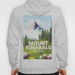 Mount Kinabalu Malaysia Hoody