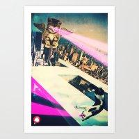 kill la kill Art Prints featuring Kill! Kill! by LA CRISE