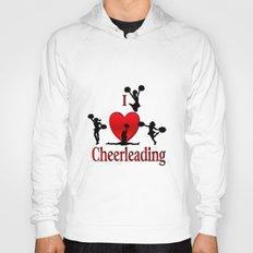 I Heart Cheerleading Hoody