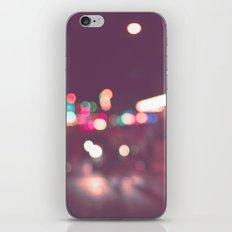 Street Bokeh iPhone & iPod Skin