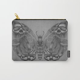 Butterfly skulls 3 Carry-All Pouch