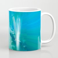psychadelic Mugs featuring Psychadelic Seahorse by Heidi Fairwood