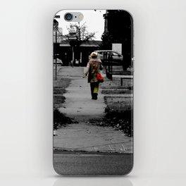 Woman Walking iPhone Skin