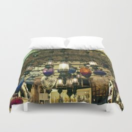 Turkish Lanterns! Duvet Cover
