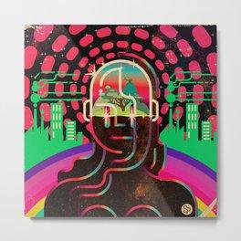 Gaia's Dome Metal Print