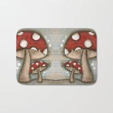 Mushrooms - by Diane Duda Bath Mat