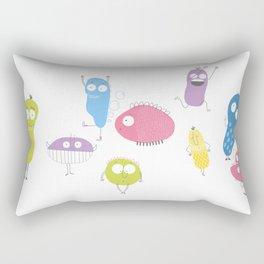 Bacteria's life Rectangular Pillow