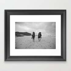 huj Framed Art Print