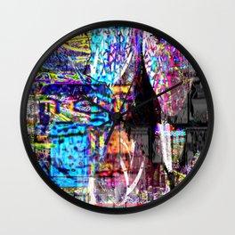 No More Lies About Tomorrow [Recombinant Series] Wall Clock