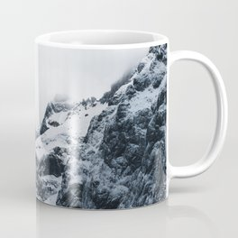 Majestic mountains under the clouds Coffee Mug