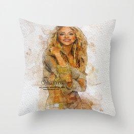 Digital Artwork 6 Throw Pillow