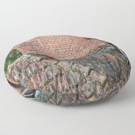 NEPALI BRICKS AND ROOFS Floor Pillow