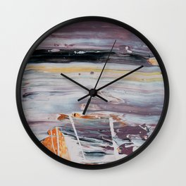 What Have You Done To Us - Detail #2 Wall Clock