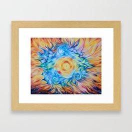 Chakra Color Painting - Andrew Kaminski Art Framed Art Print