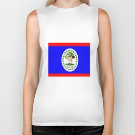 Flag of Belize Biker Tank