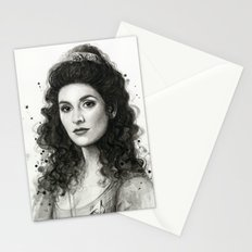 Deanna Troi Stationery Cards