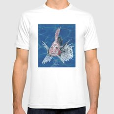 scorpion fish Mens Fitted Tee White MEDIUM