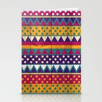mexican Stationery Cards featuring Mexican Pattern by Eleaxart