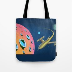 Adventures in Space Tote Bag