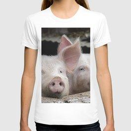 Pig Portrait T-shirt