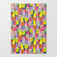 gnome Canvas Prints featuring Mister Gnome by Lydia Meiying