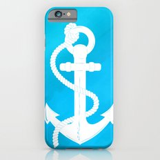 White Anchor iPhone 6s Slim Case