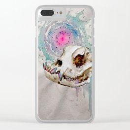 Hounds of the Abyss iii Clear iPhone Case