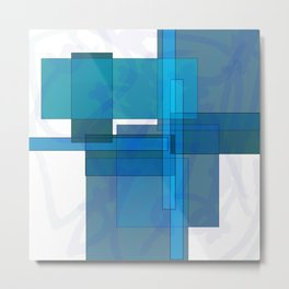 Squares combined no. 1 Metal Print