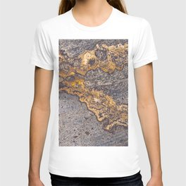 Gold Inlay Marble II T-shirt