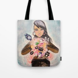 Inner Child Superstar Tote Bag