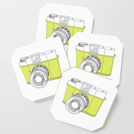 Diana F+ Glow - Plastic Analogue Camera Coaster