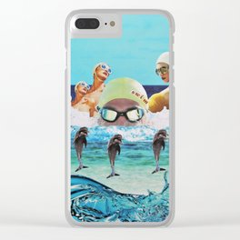 Swim Clear iPhone Case