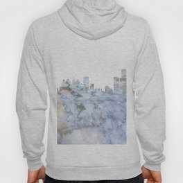 Detroit Skyline Michigan Hoody